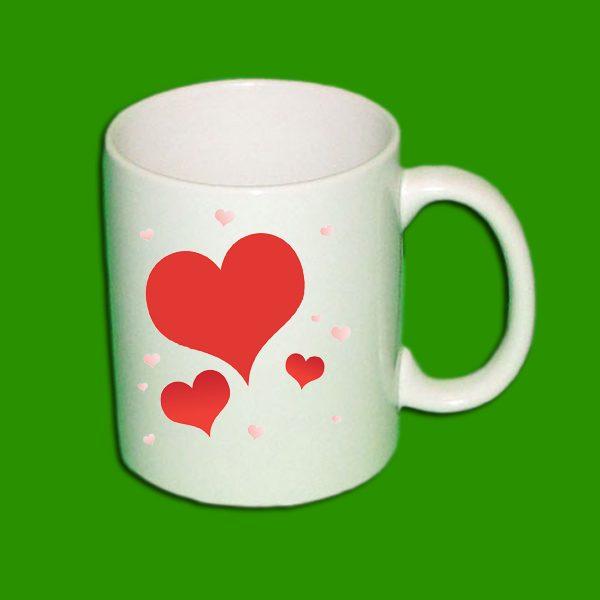 Beli foto lonček - Print Mug