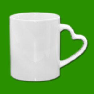 Beli foto lonček za tisk - Print Mug