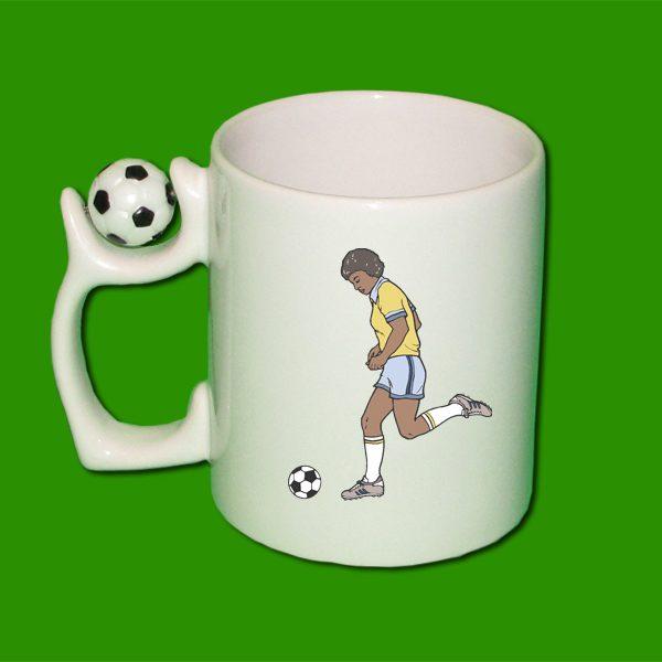 Beli foto lonček - nogomet - lonček s sliko