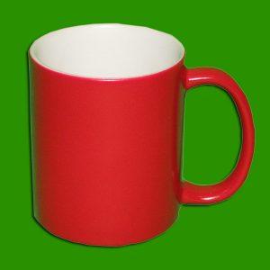 Čarobni rdeči lonček za tisk - Magic Print Mug