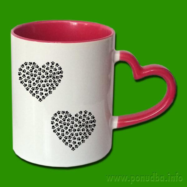 Ljubezen na pohodu - skodelica za tisk
