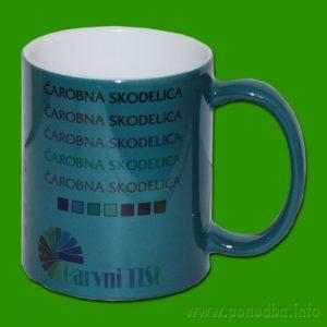 Zelena čarobna skodelica - zeleni lonček za tisk